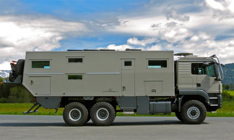 Action Mobil Globecruiser Family 7500, una autocaravana para el fin del mundo