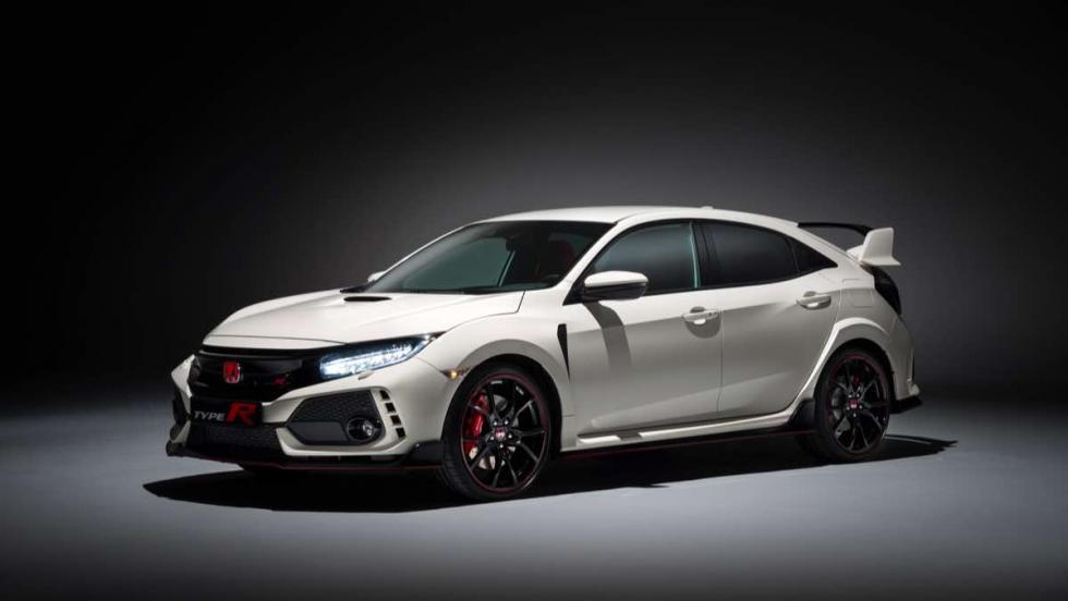 Os enseñamos el nuevo Honda Civic Type R 2017