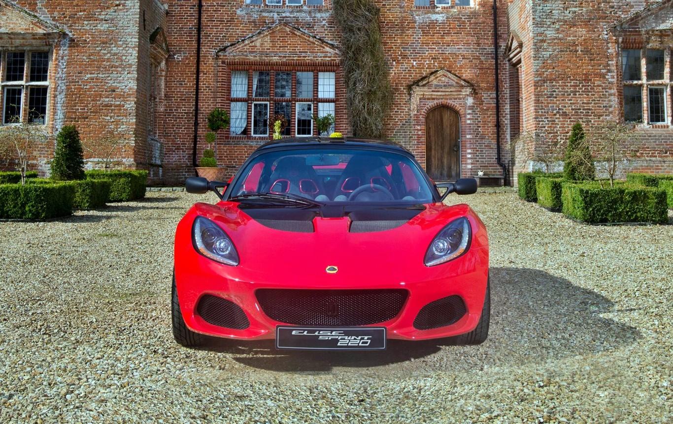 Lotus Elise Sprint, el más ligero y divertido de la gama