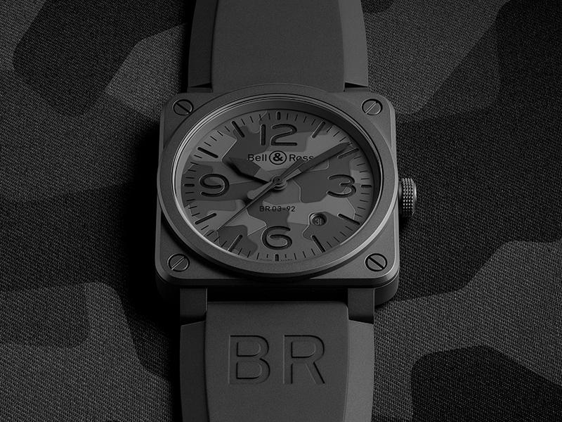 BR03-92 Black Camo, el último reloj de camuflaje de Bell & Ross