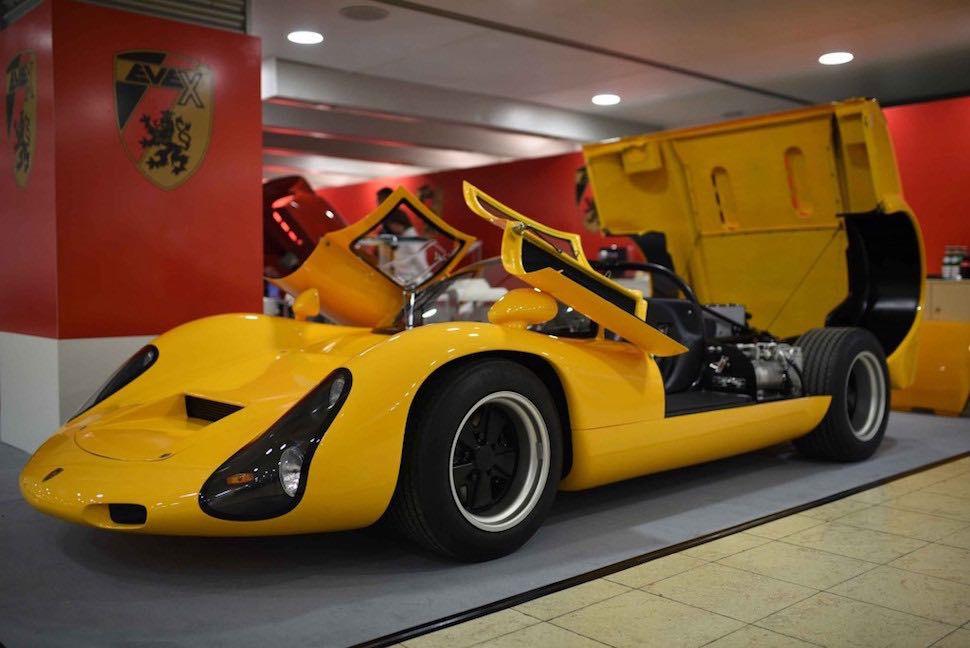 Kreisel EVEX 910e, lo más parecido a un Porsche 910 de carreras