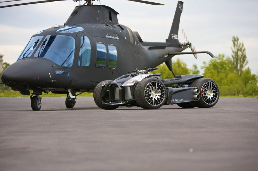 Lazareth Wazuma V8F Matte Edition, un Batimóvil con motor Ferrari