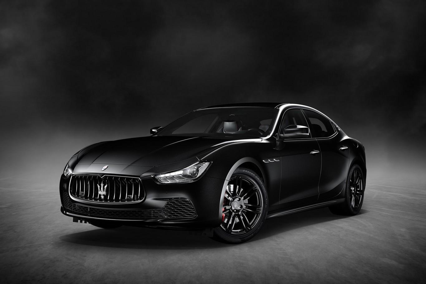 Maserati presenta en Nueva York el Ghibli Nerissimo Black Edition