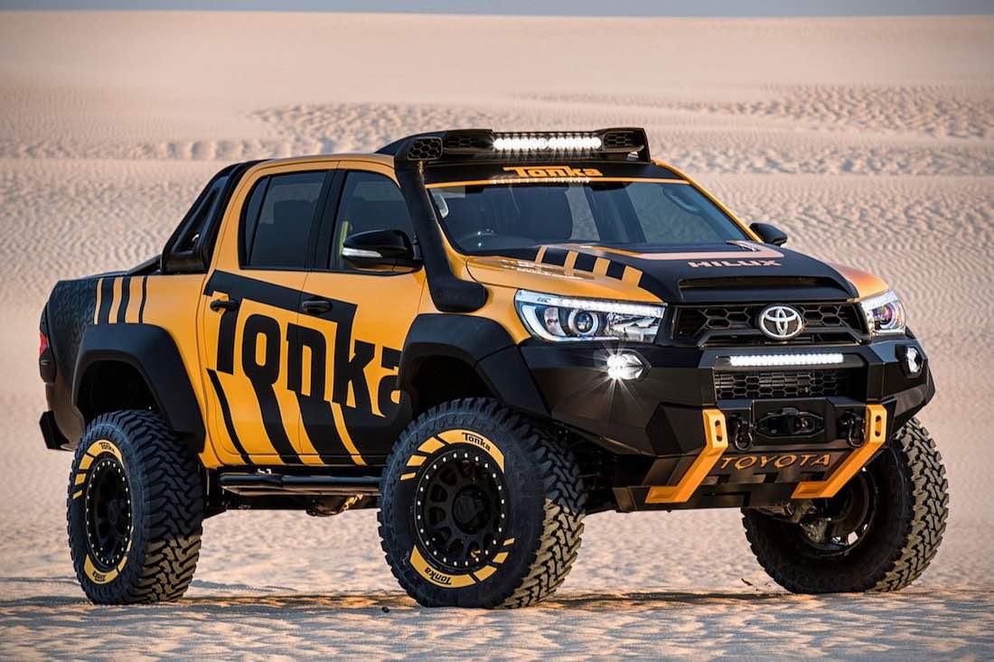"Toyota Hilux Tonka Concept, un ""juguete"" hecho realidad"