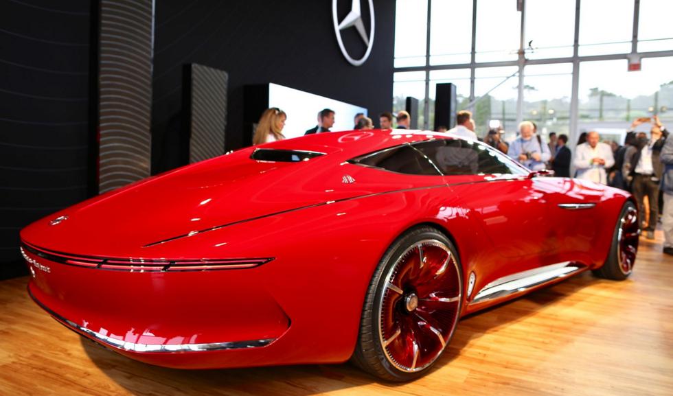 El alucinante Vision Mercedes-Maybach 6