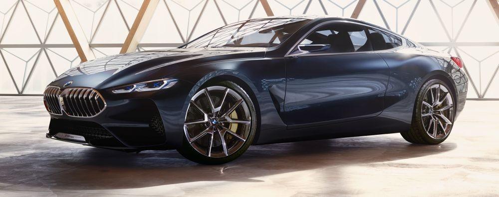 Os presentamos el espectacular BMW Serie 8 Concept