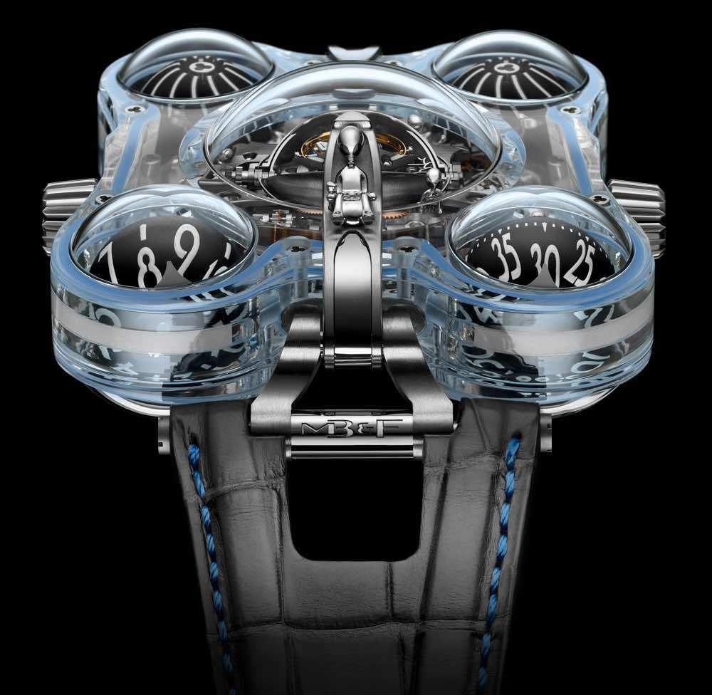 MB&F HM6 Alien Nation, el reloj extraterrestre de $500.000
