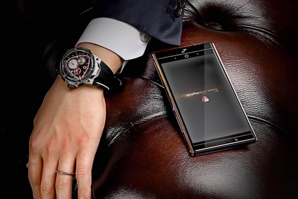 Lamborghini Alpha One, un smartphone de lujo de más de 2000 euros