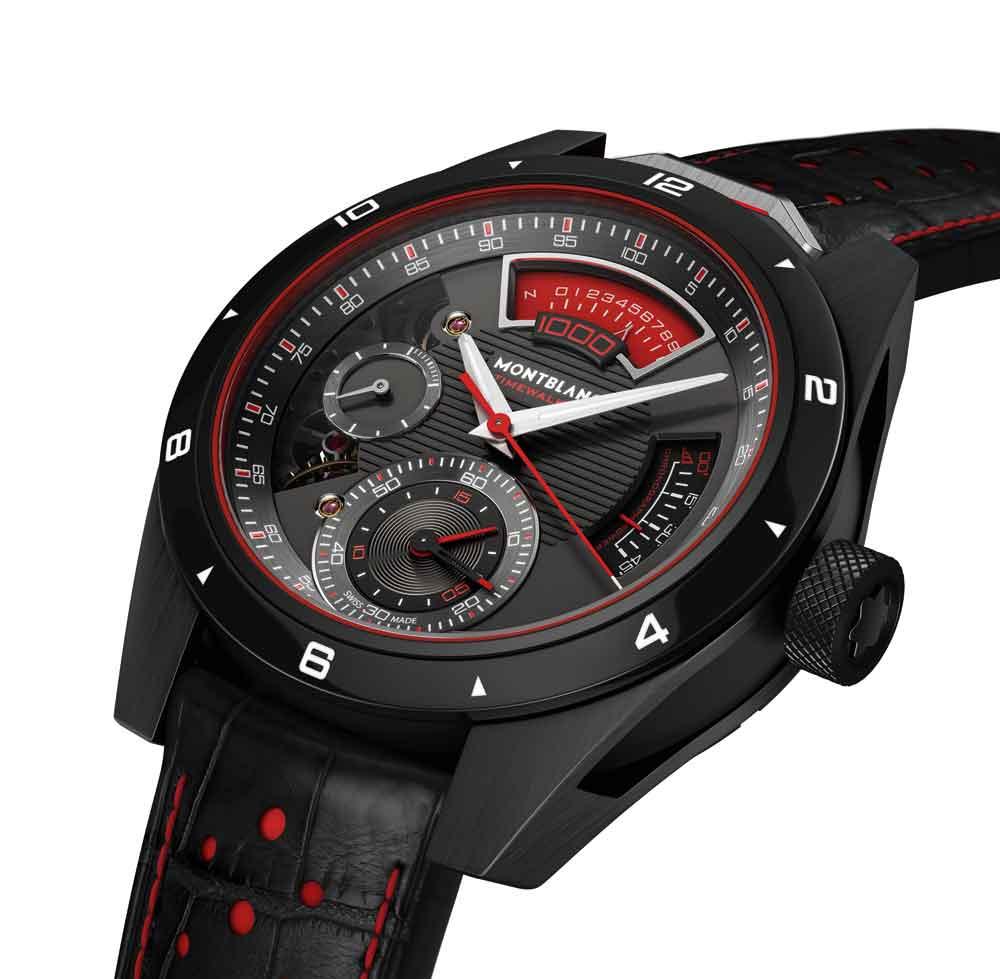 Montblanc  TimeWalker Chronograph 1000 Limited Edition 18, un cronógrafo para la competición