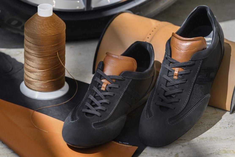 Olympia Aston Martin X Hogan, las zapatillas de lujo más deportivas