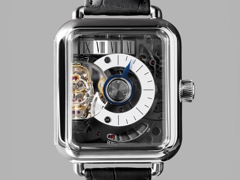 Swiss Alp Watch Minute Retrograde, el reloj de H. Moser & Cie. con sorpresa de Hautlence