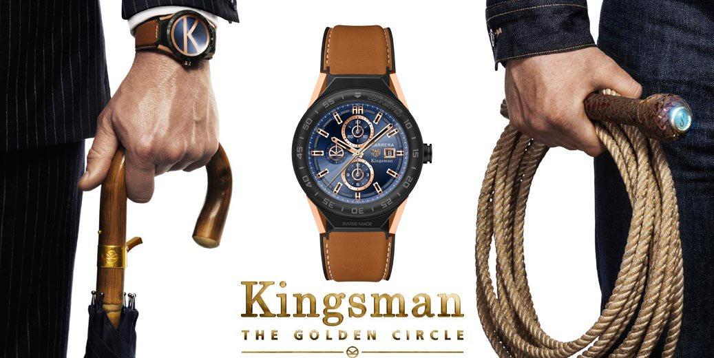 TAG Heuer Connected Modular 45 Edición Especial Kingsman, un reloj de película