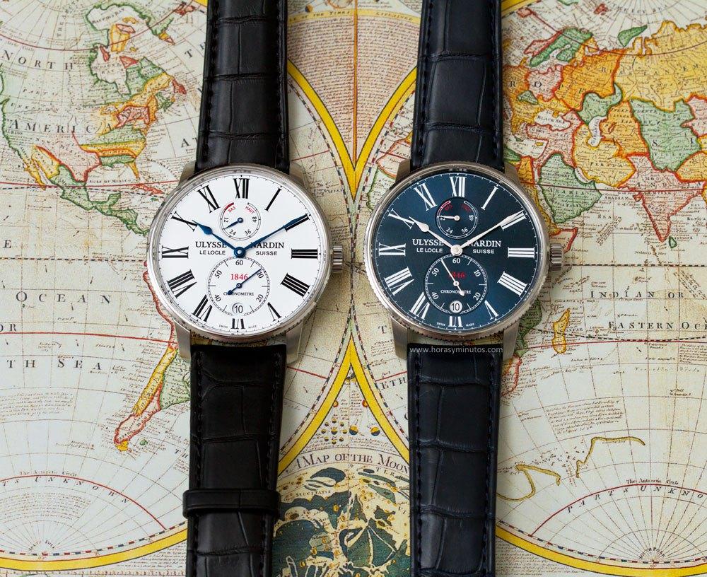 Ulysse Nardin Marine Chronometer Torpilleur, el reloj de los capitanes
