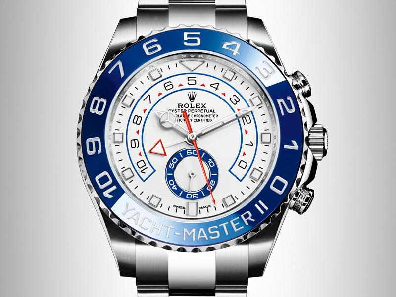 Yacht Master II, el reloj de alta mar