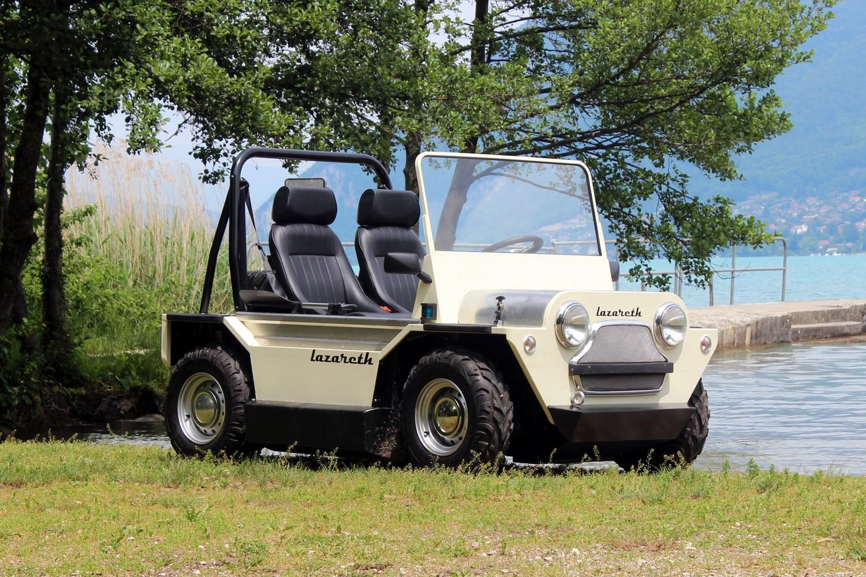 Moke Amphibie Lazareth, el coche anfibio que va a triunfar este verano