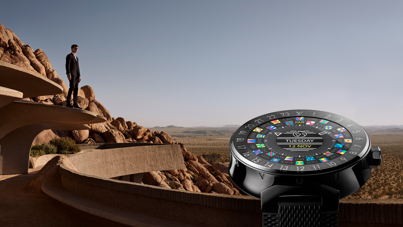Tambour Horizon, el primer smartwatch de Louis Vuitton