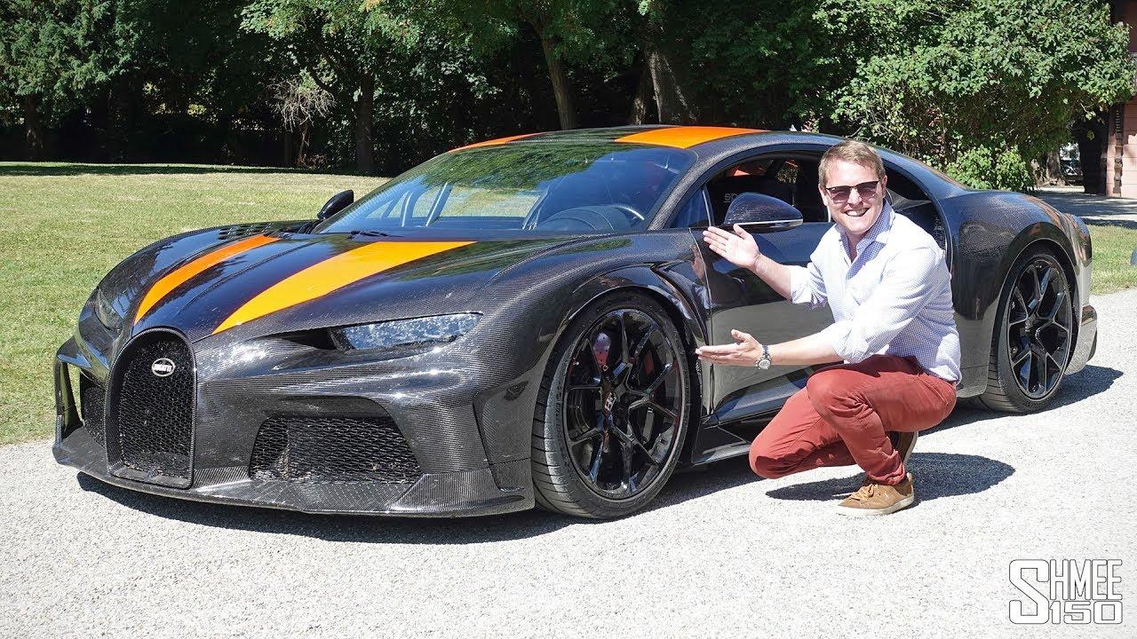Un Bugatti Chirón a la venta por 4.7 millones de euros