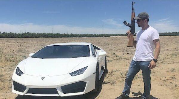 Ponen a prueba al único Lamborghini blindado