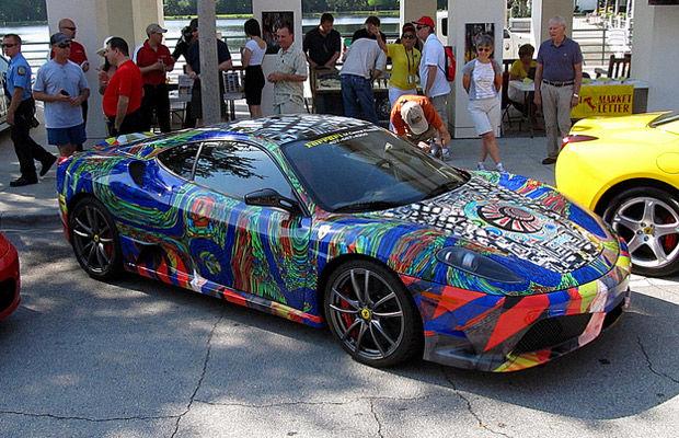 El Ferrari más feo del mundo