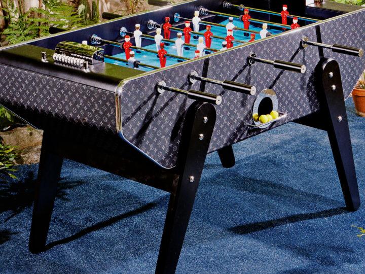 El futbolín de Louis Vuitton que cuesta 80.000€