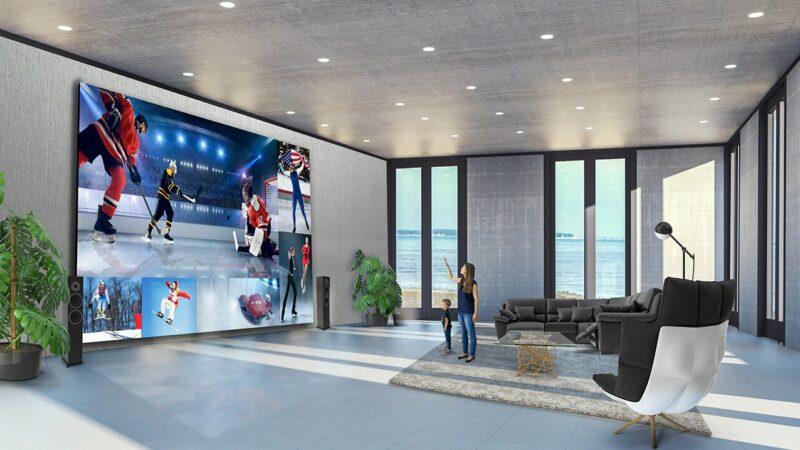 LG lanza una TV de 325 pulgadas que cuesta 1.5 millones de euros